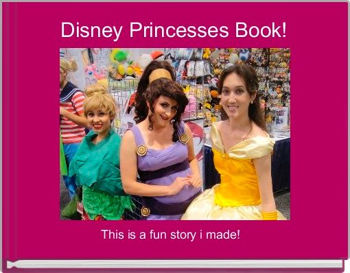 Disney Princesses Book!