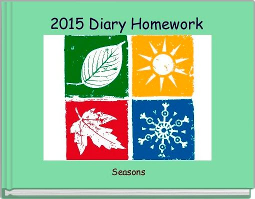 2015 Diary Homework