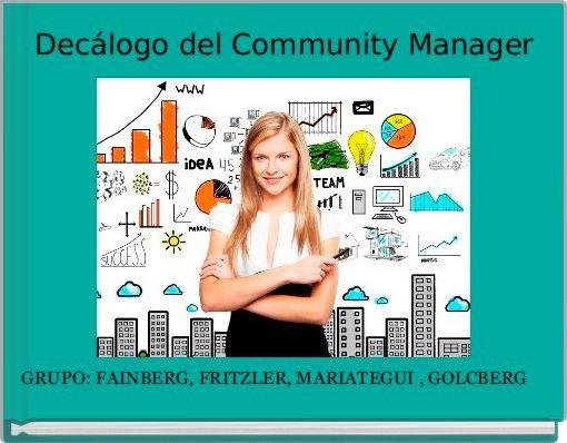 Decálogo del Community Manager