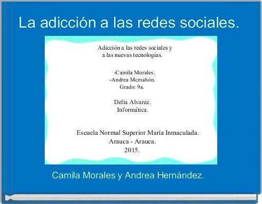 La adicción a las redes sociales.