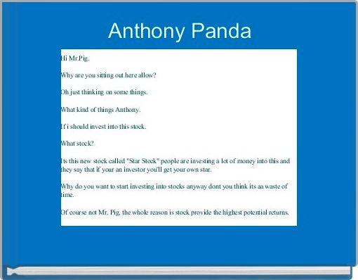 Anthony Panda