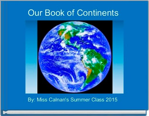Our Book of Continents