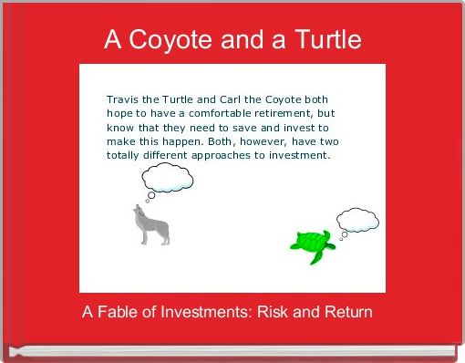 A Coyote and a Turtle