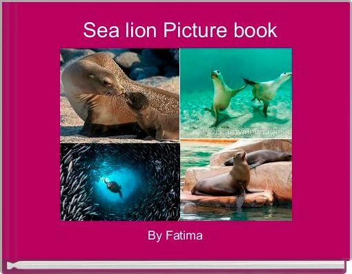 Sea lion Picture book