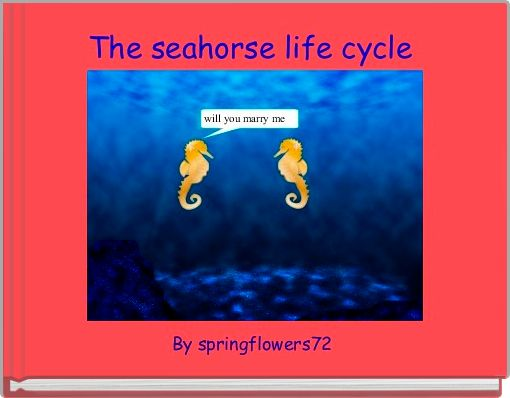 The seahorse life cycle