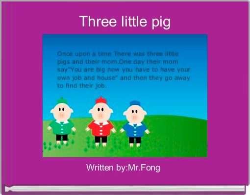 Three little pig