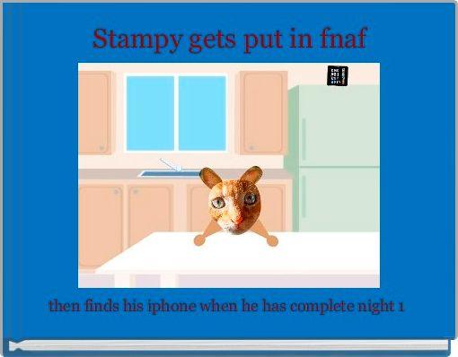 Stampy gets put in fnaf