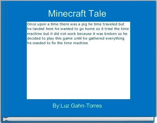 Minecraft Tale