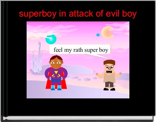 superboy in attack of evil boy
