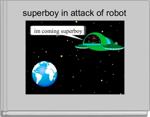 superboy in attack of robot