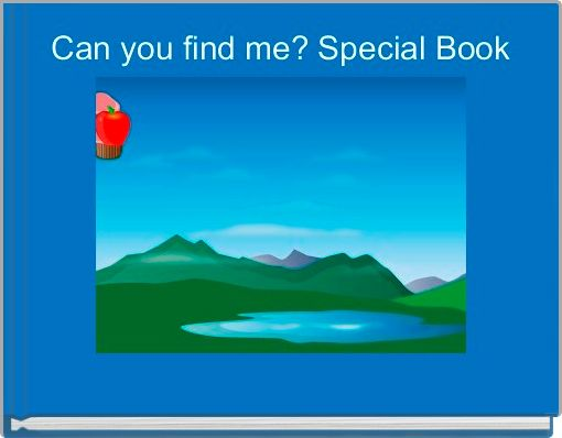 Can you find me? Special Book