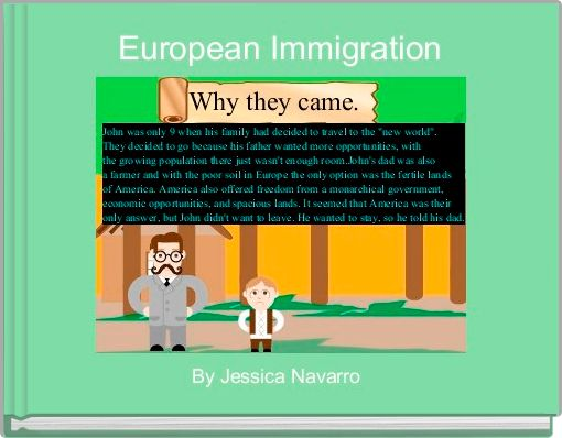 European Immigration