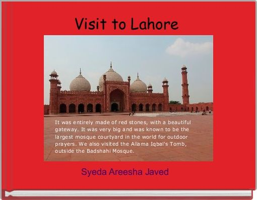 Visit to Lahore