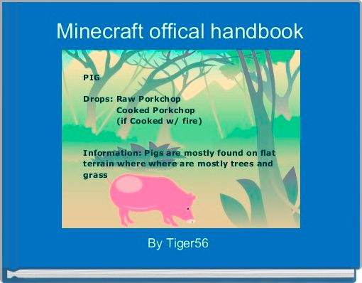 Minecraft offical handbook