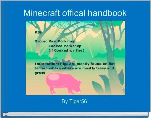 Minecraft offical handbook