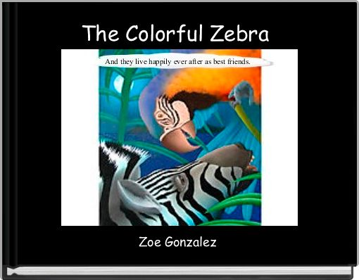 The Colorful Zebra