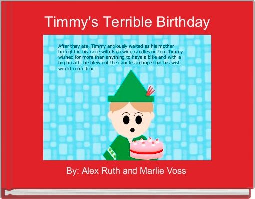 Timmy's Terrible Birthday