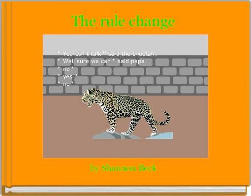 The rule change