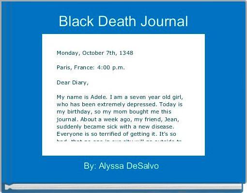Black Death Journal