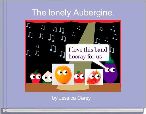 The lonely Aubergine.