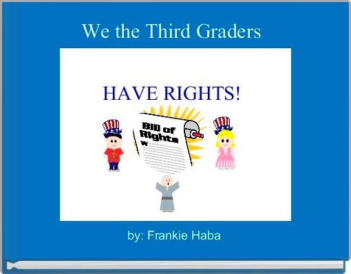 We the Third Graders