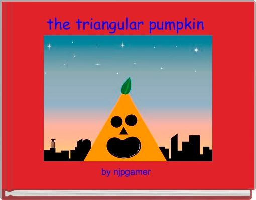 the triangular pumpkin