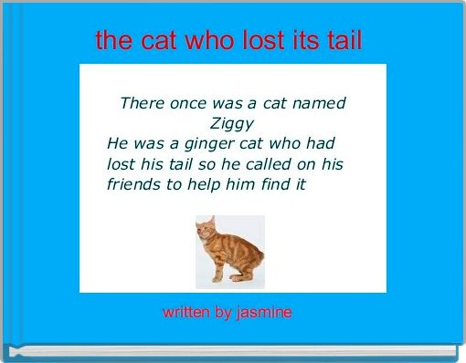the cat who lost its tail