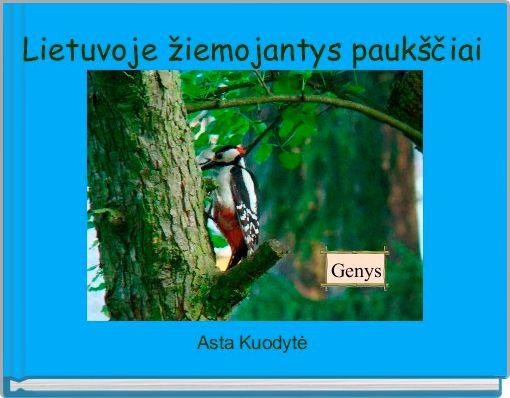Lietuvoje žiemojantys paukščiai