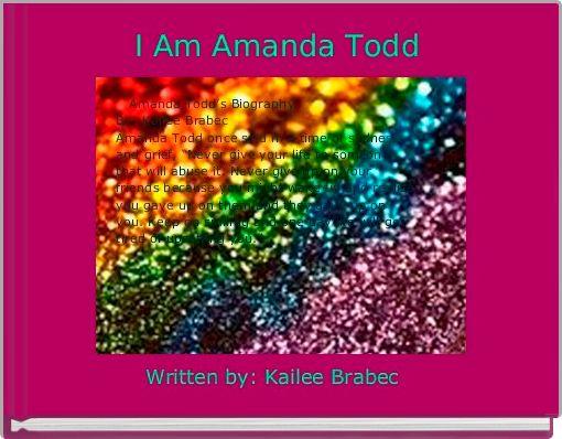 I Am Amanda Todd