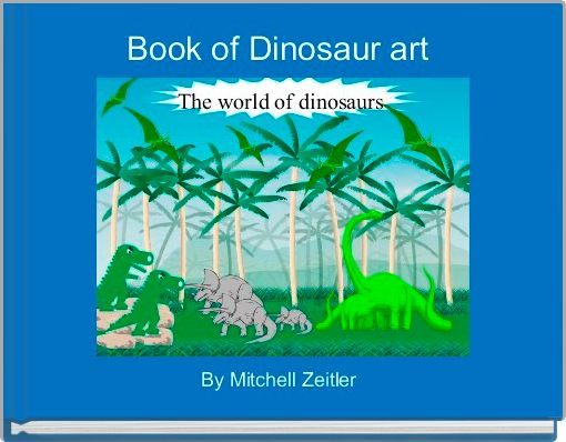 Book of Dinosaur art