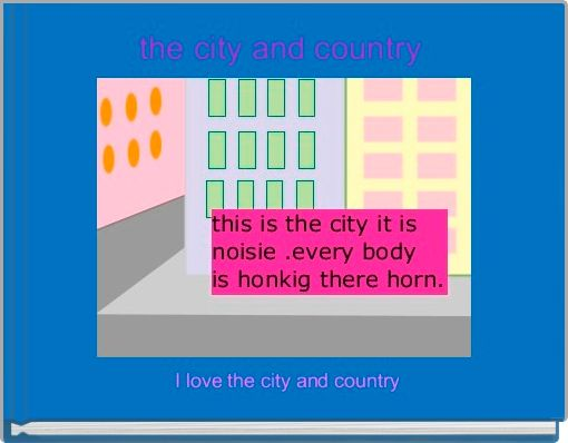 the city and country