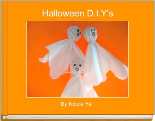 Halloween D.I.Y's