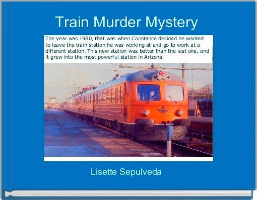Train Murder Mystery