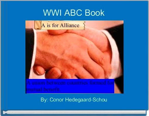 WWI ABC Book