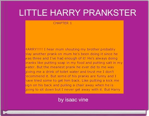 LITTLE HARRY PRANKSTER