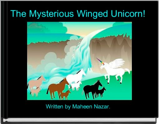 The Mysterious Winged Unicorn!