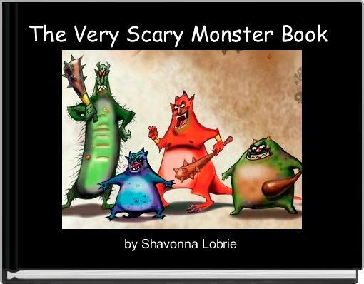 The Very Scary Monster Book