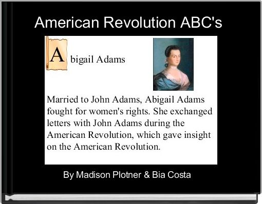 American Revolution ABC's