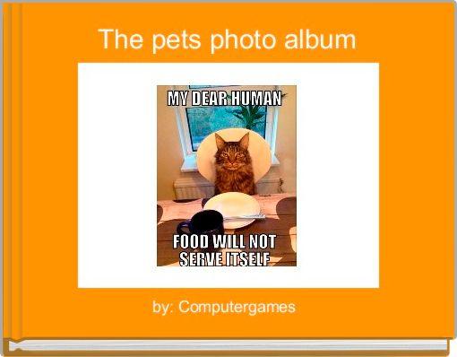 The pets photo album