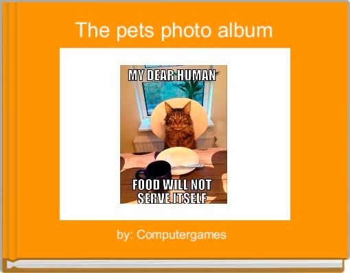 The pets photo album