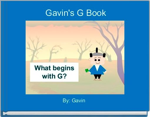 Gavin's G Book