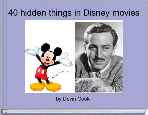 40 hidden things in Disney movies