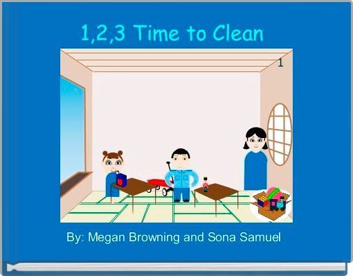 1,2,3 Time to Clean