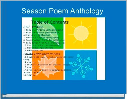 Season Poem Anthology