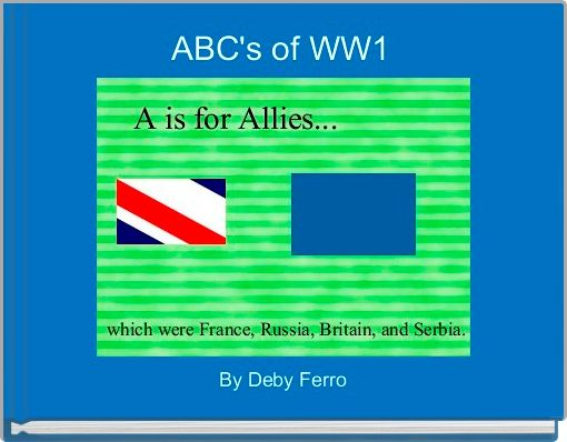 ABC's of WW1