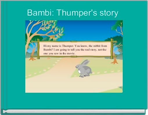 Bambi: Thumper's story