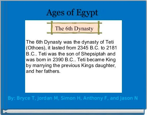 Ages of Egypt