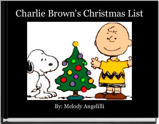 Charlie Brown's Christmas List