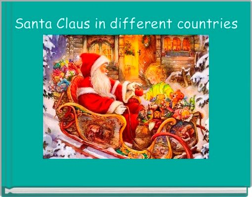 Santa Claus in different countries