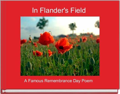 In Flander's Field